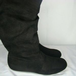 Forever 10 Fashion Slouchy Dress Boots Size GA4